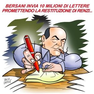 Lettere Bersani restituzione Renzi