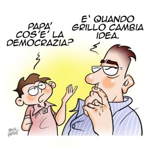 Grillo democrazia