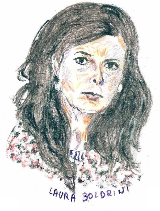 Laura BOLDRINI, Presidente eletta della Camera dei Deputati