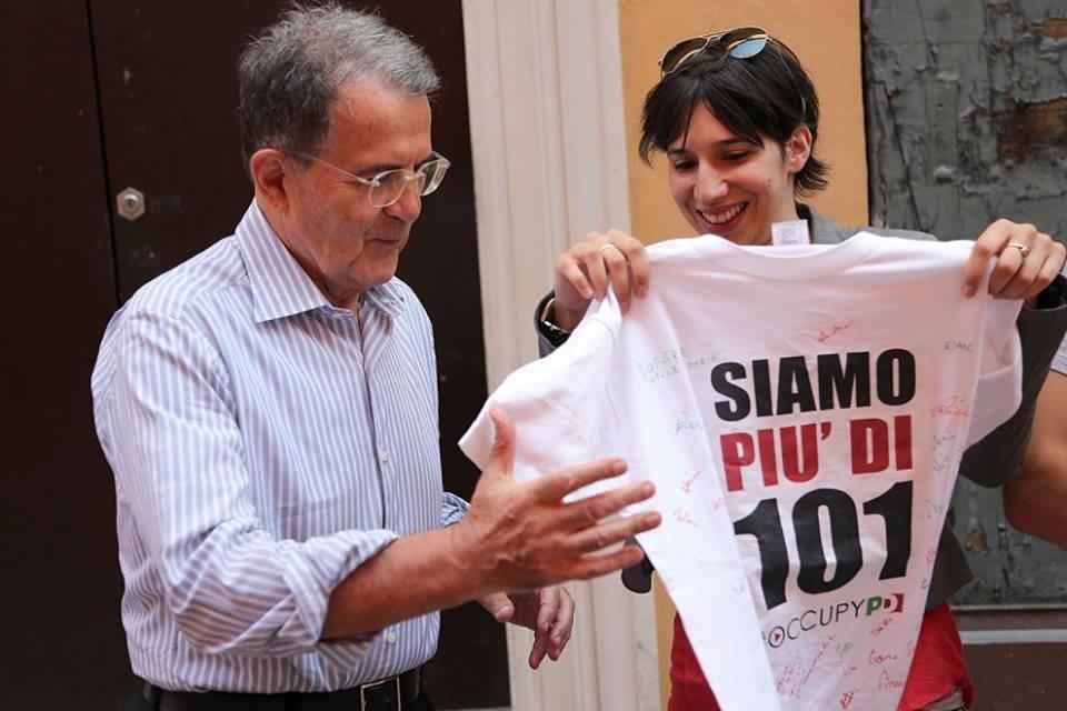 Elly Schlein e Romano Prodi
