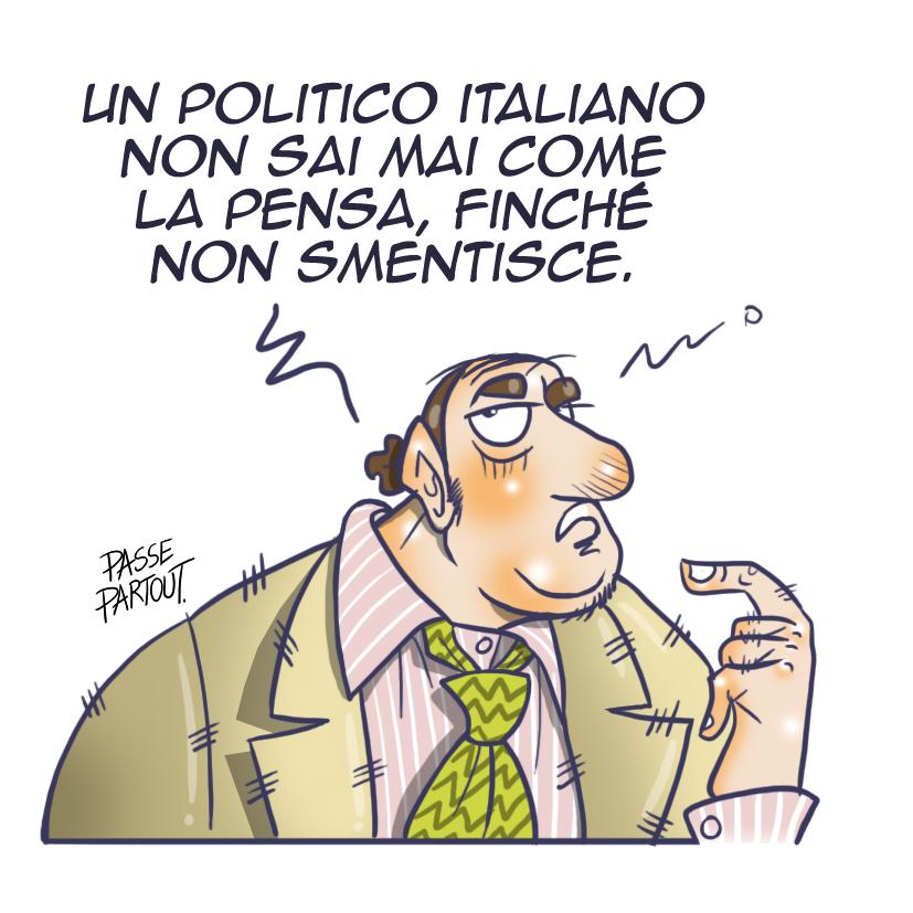 Il politico italiano