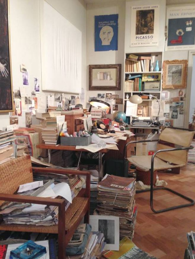 La casa di un immaginario collezionista francese degli for Belle case arredate